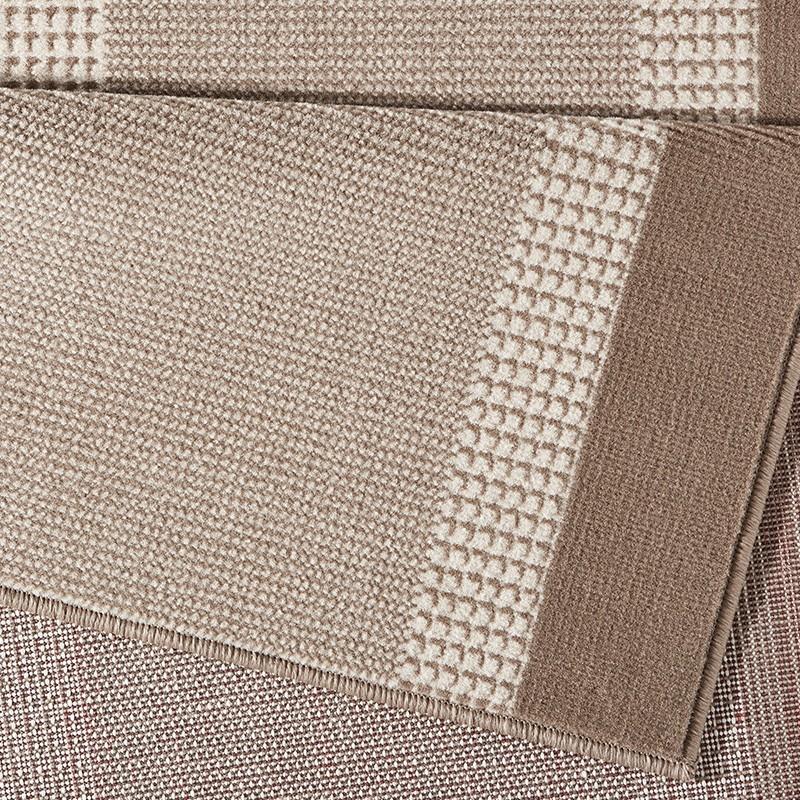 design velours teppich band creme beige teppiche kurzflor. Black Bedroom Furniture Sets. Home Design Ideas