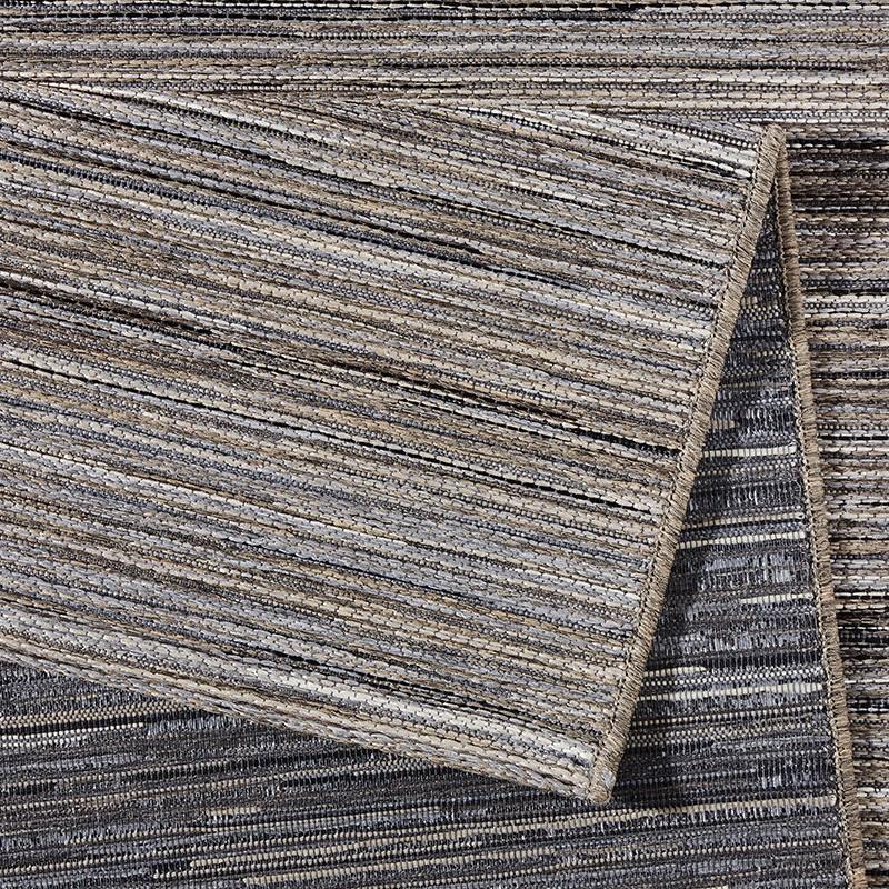 design outdoorteppich lotus grau melliert 102446 teppiche flachgewebe teppiche outdoor indoor. Black Bedroom Furniture Sets. Home Design Ideas