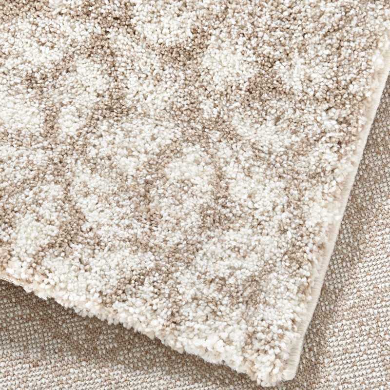 design velours teppich hochflor impress beige creme braun teppiche hochflor teppiche mint line. Black Bedroom Furniture Sets. Home Design Ideas