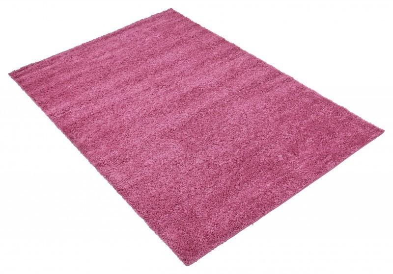 shaggy deluxe hochflor teppich pink ebay. Black Bedroom Furniture Sets. Home Design Ideas