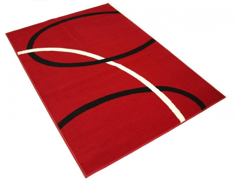Design Teppich Loft rot  eBay