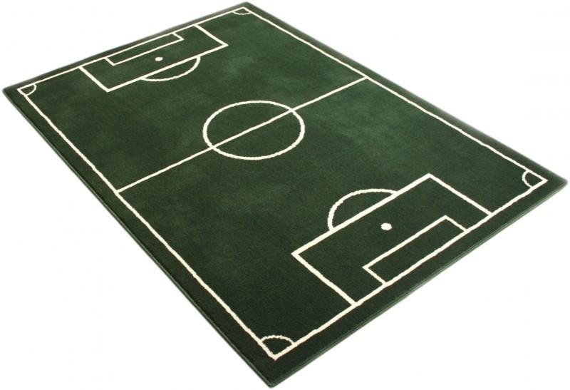 Fußballplatz Fussball Teppich Grün Spiel und