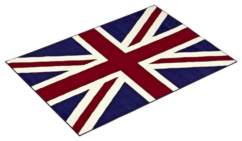 Union Jack EnglandLondon Fahne Teppich Teppiche Kurzflor