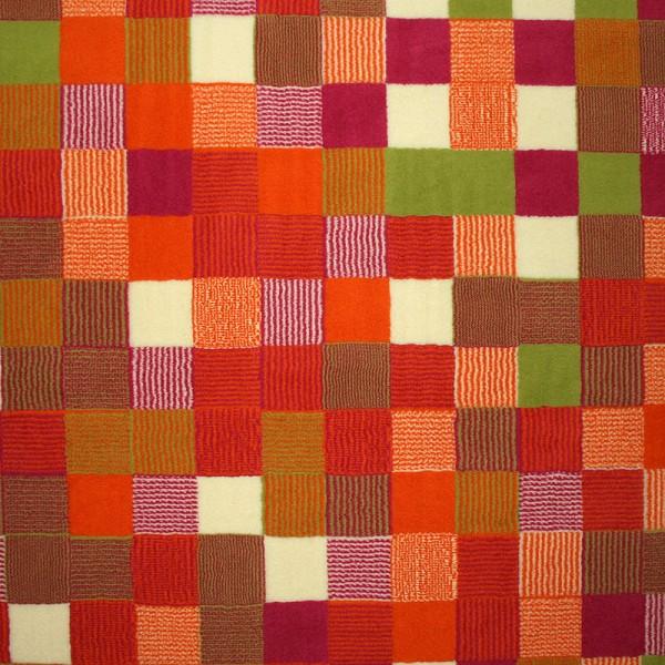 Velours Design Teppich Pixel pink  eBay