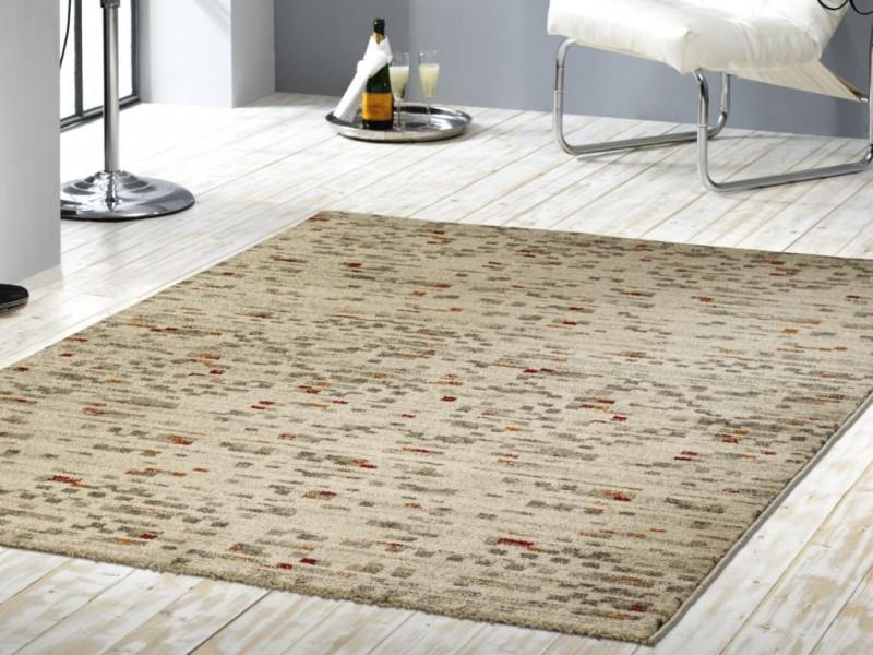 kurzflor velours teppich sahara beige ebay. Black Bedroom Furniture Sets. Home Design Ideas