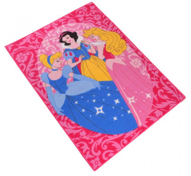Disney Kinder Teppich  Princess Portrait 95×133 cm Spiel