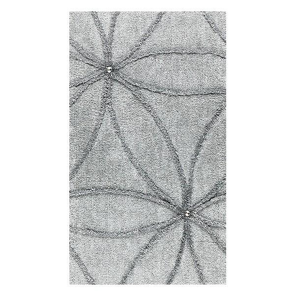 premium badematte crystal blossom mit swarowski elementen badteppich ebay. Black Bedroom Furniture Sets. Home Design Ideas